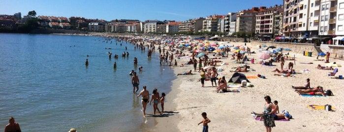 Praia de Silgar is one of Sanxenxo.