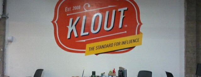 Klout is one of Silicon Valley Tech Companies.
