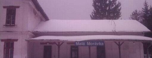 Železniční stanice Malá Morávka is one of Železniční stanice ČR: M (7/14).