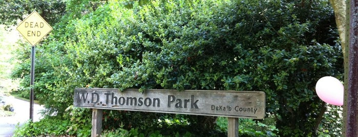 W.D. Thompson Park is one of things to do in atlanta.