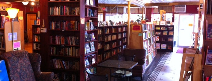 Inquiring Minds Bookstore and Coffee is one of Work.