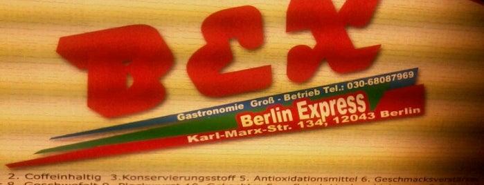BEX Berlin Express is one of Burger in Berlin.