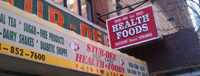 Stur-Dee Health Foods is one of NYC - Quick Bites!.
