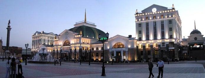 Ж/Д Вокзал Красноярск-Пассажирский|Krasnoyarsk Railway Station is one of Транссибирская магистраль.
