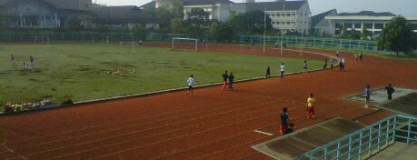 Stadion UPI is one of My Hometown.
