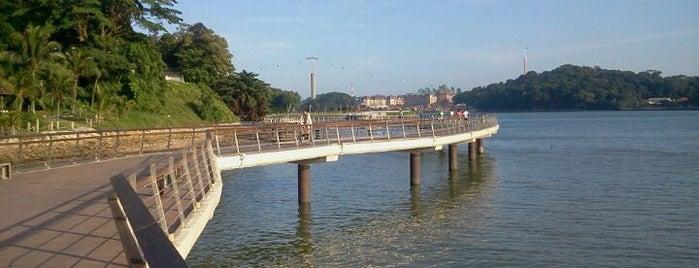 Bukit Chermin Boardwalk is one of Trek Across Singapore.