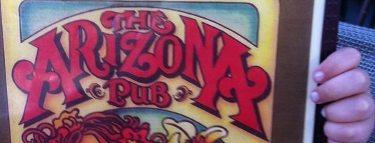 Arizona Pub is one of Resturants to try.