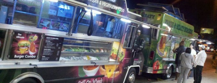The Granada Hills Gourmet Food Trucks Explosion (Food Trucks Row) is one of SF Valley FoodTruck HotSpots.