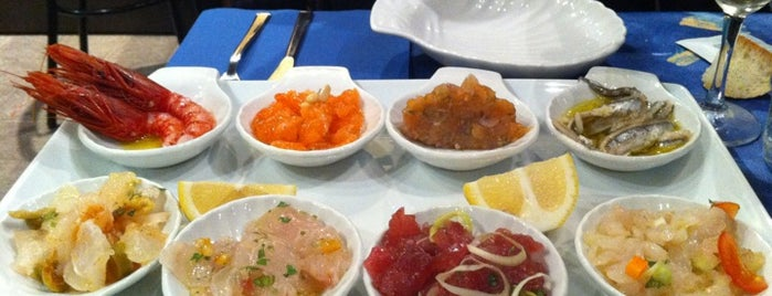 L'officina Del Pesce is one of Milan(o) the BEST! = Peter's Fav's.