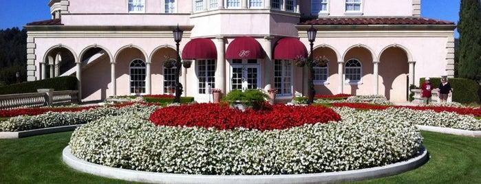 Ferrari-Carano Vineyards & Winery is one of Gorgeous, Burgeoning Wine Road Gardens.