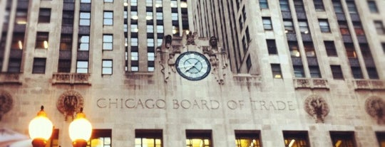 Chicago Board of Trade is one of Two days in Chicago, IL.