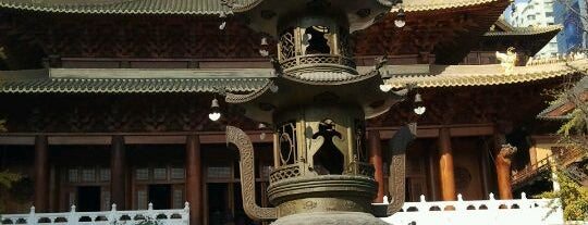 Jing'an Temple is one of Local Shanghai.