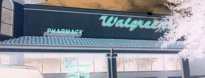 Walgreens is one of Work.