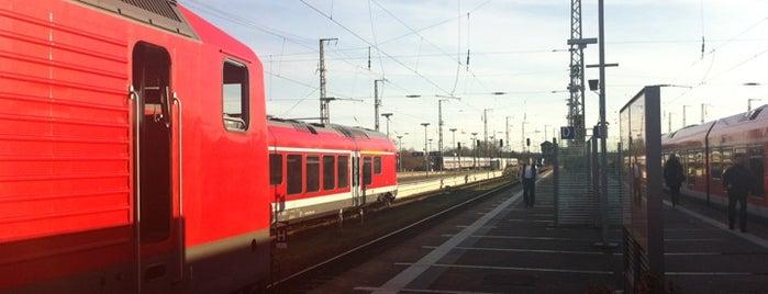 Stralsund Hauptbahnhof is one of Bahnhöfe DB.