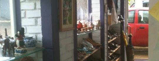Brechó, Antiquário, Sebo