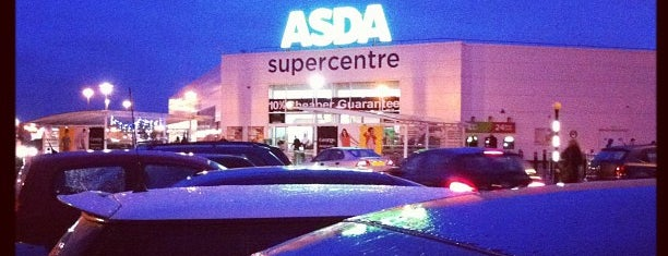 Asda is one of Places visited.