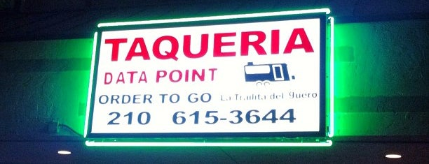 Taqueria Data Point is one of The 15 Best Places for Tacos in San Antonio.