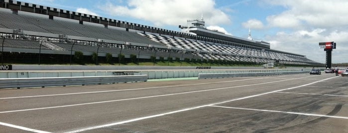 Pocono Raceway is one of Great Sport Locations Across United States.