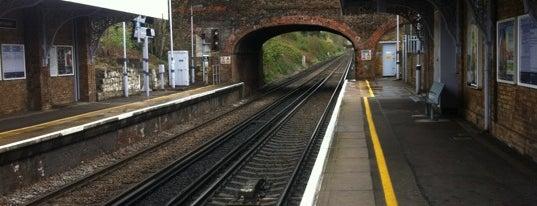Beckenham Junction Railway Station (BKJ) is one of Train stations.