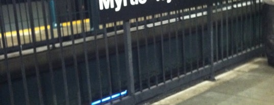 MTA Subway - Myrtle/Wyckoff Ave (L/M) is one of MTA Subway - L Line.