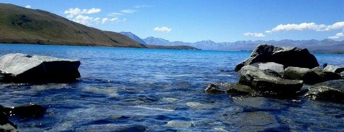 Lake Tekapo is one of New Zealand.
