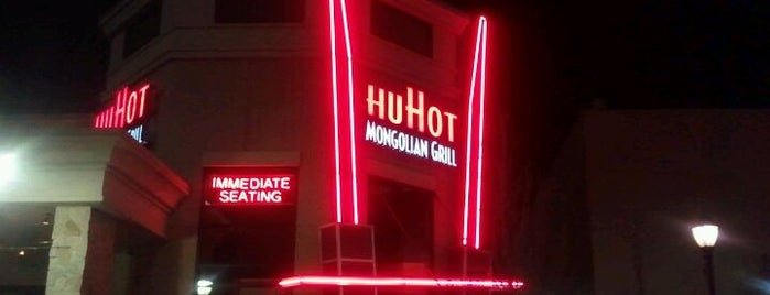 HuHot Mongolian Grill is one of Food.