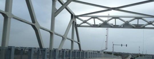Ben Sawyer Bridge is one of Charleston, SC.