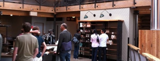 Sightglass Coffee is one of Hipster Coffee Shop Explosion.