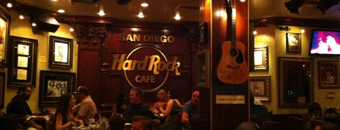 Hard Rock Cafe San Diego is one of San Diego.