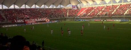 Estadio Bicentenario Nelson Oyarzún is one of Estadios.