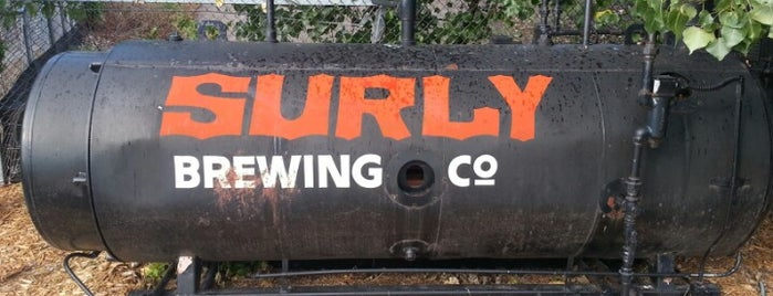 Surly Brewing Co is one of Minnesota Breweries and Brewpubs.