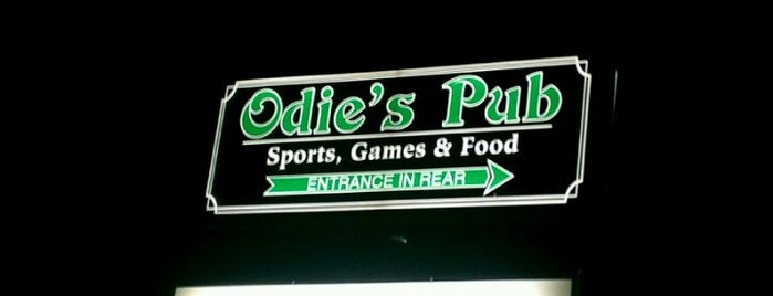 Odie's Pub is one of Local Redskins Rally Bars.