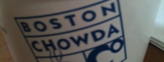 Boston Chowda Company is one of Boston.