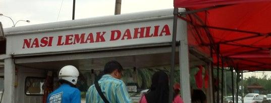 Nasi lemak dahlia is one of Makan @ Melaka/N9/Johor #15.