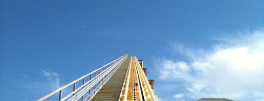 The Desperado Roller Coaster is one of 10 must-do thrill rides in Vegas.