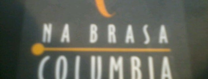 Na Brasa Columbia is one of Para conhecer.