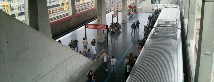 Estação Belém (Metrô) is one of Linha 3 - Vermelha do Metrô de São Paulo.