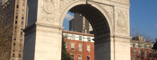 Washington Square Park is one of Tourist Tips: Manhattan in a Day.