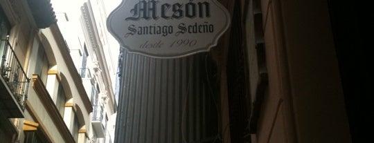 Meson Santiago Sedeño is one of Mis lugares favoritos.