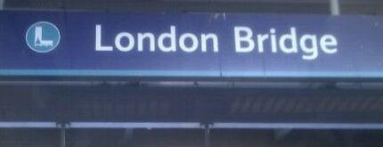 London Bridge Railway Station (LBG) is one of Train stations.