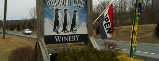 Penguin Bay Winery is one of New York State Wineries.