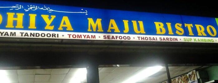 Restoran Fadhiya Maju Bistro is one of Makan Time..