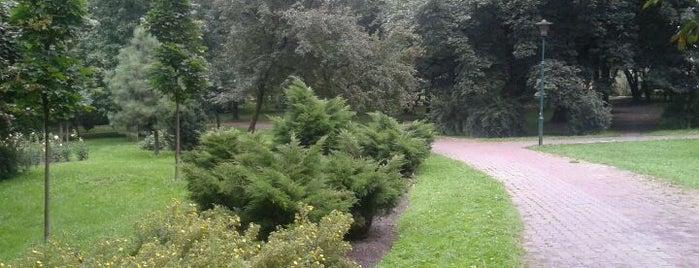 Park Róż is one of Silesian Green Outdoors.