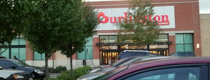 Burlington Coat Factory is one of favorites.