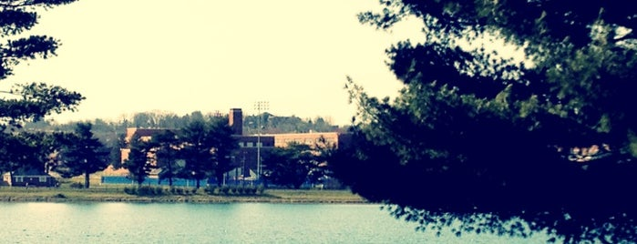 Lake Montebello is one of Baltimore's Best Great Outdoors - 2012.
