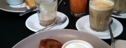 Federal Café is one of Breakfast and nice cafes in Barcelona.