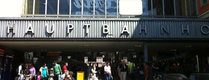 München Hauptbahnhof is one of DB ICE-Bahnhöfe.