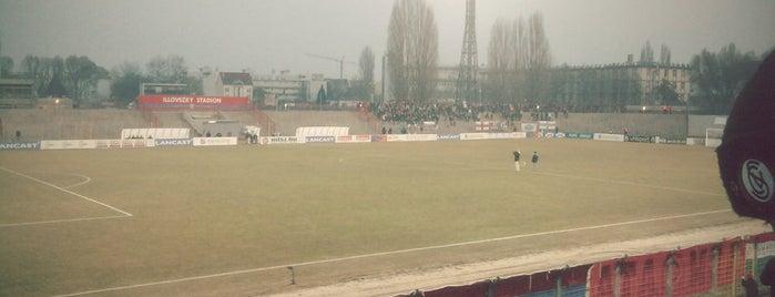 Vasas pálya is one of Stadionok.