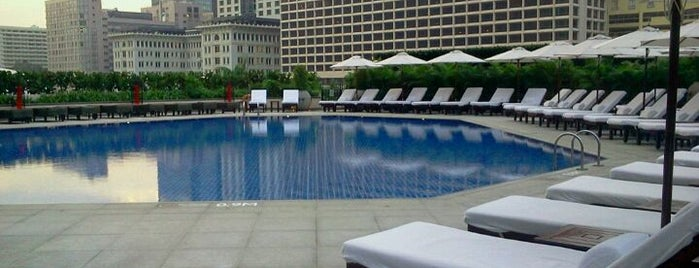 InterContinental Hong Kong is one of Incredible Pools.