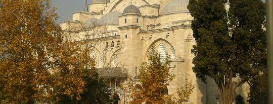 Süleymaniye Mosque is one of Istanbul.